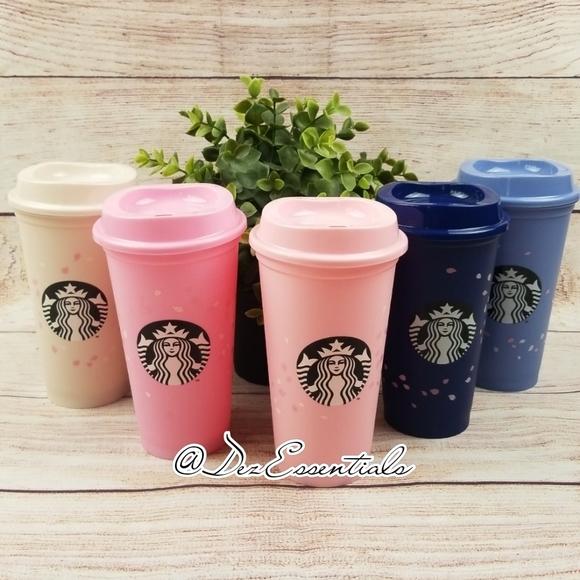 Starbucks Sakura Blossom Reusable Cups